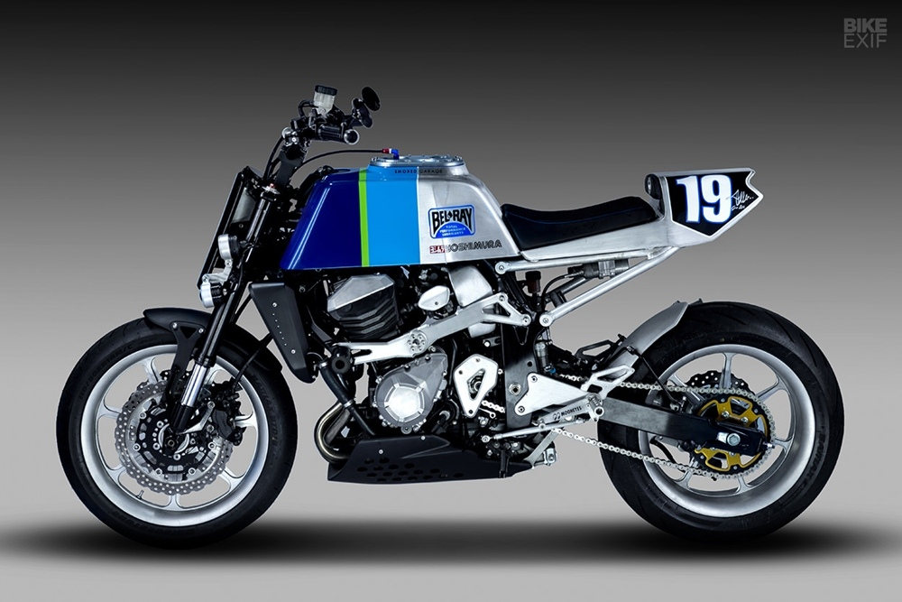 Smoked Garage: кастом Kawasaki Z800 Kerosin Burner
