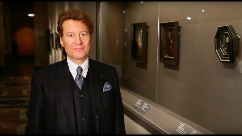 Томас Каплан о портрете Дирка ван Берестейна Геррита Дау