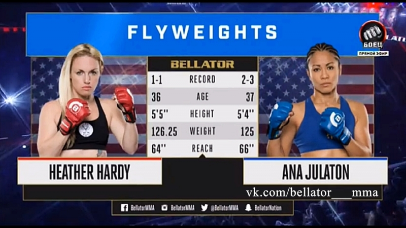 Heather Hardy vs. Ana Julaton / Хизер Харди vs. Анa Хулатон
