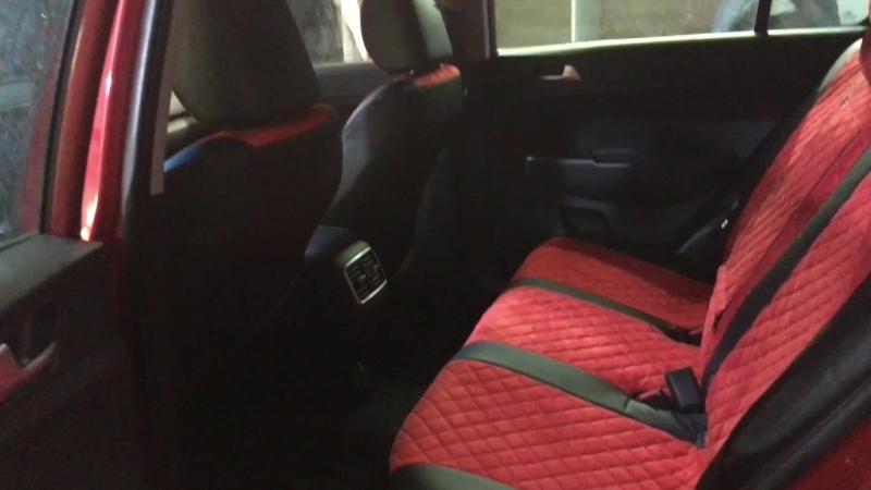 Автопилот со вставками алькантары серии роб на Kia Sportage 4