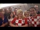 Президент Хорватии подарила Путину футболку сборной своей страны