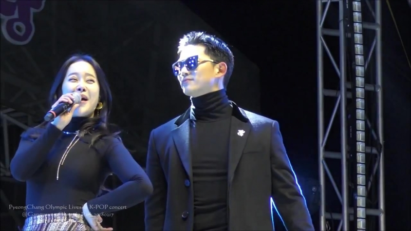 180217 Livesite K-pop concert My ears Candy (Taecyeon)