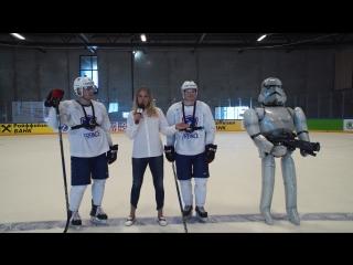 On-Ice Challenge. Николя Ритц против Гийома Леклера