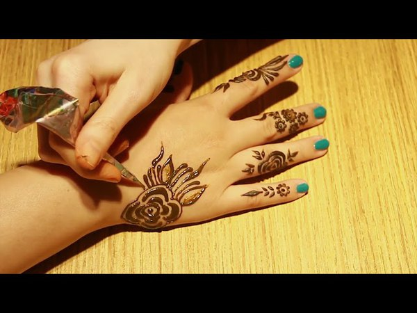 Awesome-Beautiful Arabic Henna Mehndi Designs   New Collection On August-2017