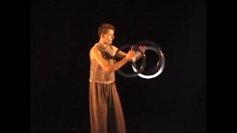 Bruce, Juggling Rings, 1998