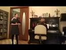 Воспоминание Лизы из оперы А зори здесь тихие Рождественский домашний концерт