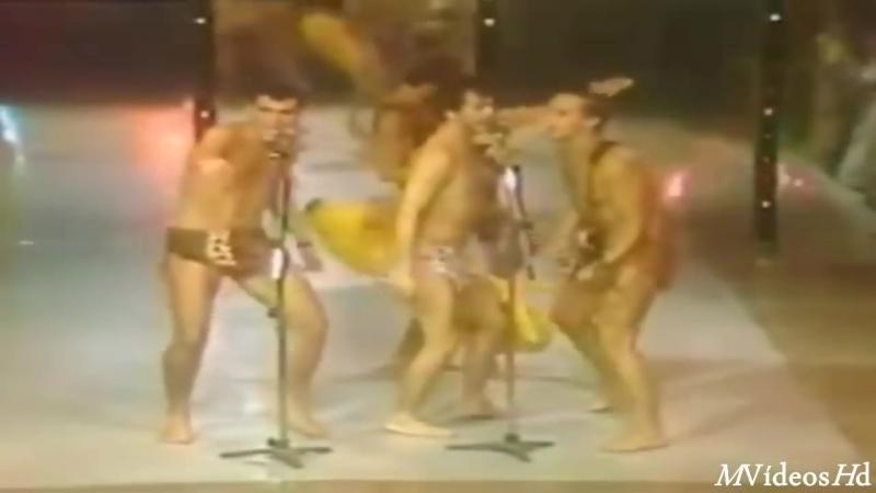Como Macaco Gosta de Banana no programa do Sergio Mallandro