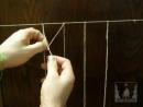 Плетение сети (НЕклассический способ)