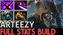 Arteezy [Slark] Full Stats Build for Tanky 7.15 Dota 2