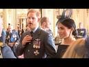Меган Маркл и принц Гарри на службе в Вестминстерском аббатстве