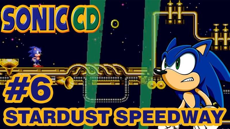Sonic the Hedgehog CD part 6 (1080p) ► Stardust Speedway