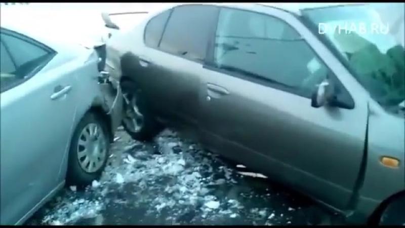 Страшная авария на Комсомольской трассе.