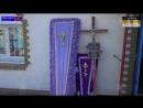 Стаханов.24 января,2014.Похороны 5 летнего ребенка и его мамы, убитых после атаки на город 21 числа Юго-Восток
