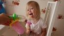 Мороженое из шариков ОРБИЗ! Супер челлендж с шариками орбиз. Видео для детей.