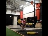 Squat Clean 85 kg