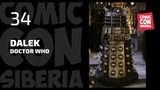 Comic Con Siberia 2018 LIVE - Dalek (Doctor Who)