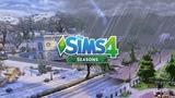 The Sims 4 Seasons Rain, Thunderstorm, Snow and Blizzard + Season Transitions