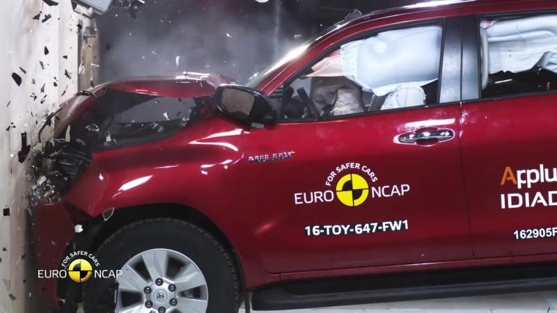 Euro NCAP Crash Test of Toyota Hilux