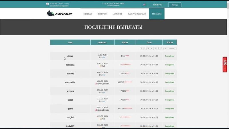 ВЫВОД! kapitalof.com/index.php?r=34151 KAPITAL
