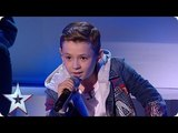 Isnt HE lovely Calum Courtney melts hearts at the Semis! Semi-Finals BGT 2018