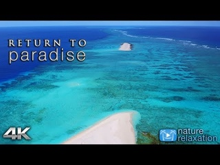 RETURN TO PARADISE [4K] Fiji's Nanuku Island 2HR Nature Relaxation™ Film w/ Real Beach Wave Sounds