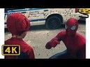 Человек-Паук против Носорога. Финальная Сцена Новый Человек-паук Высокое напряжение 2014 HD