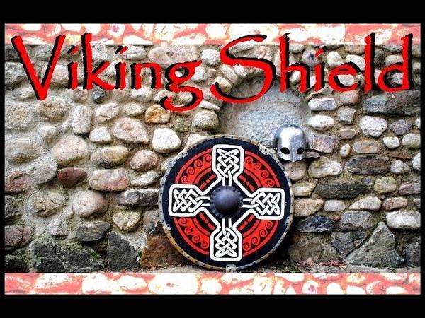 Viking shield. How to make a Viking shield. Round Shield. ( щит викинга )