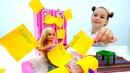 Мультики для девочек - Барби проходит квест - Видео про кукол