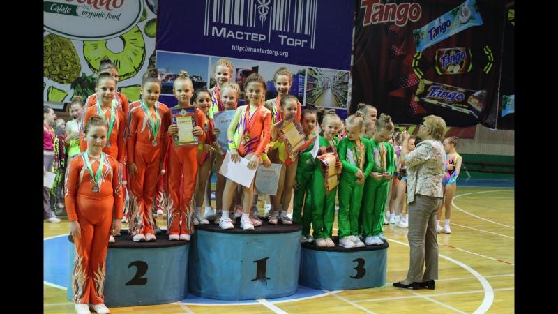 Чемпионат и первенство по спортивной аэробике г Донецка Степ
