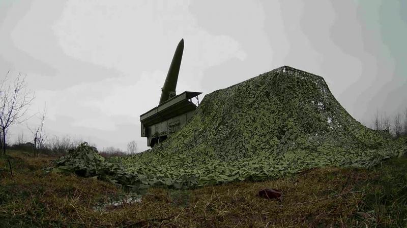 На Кубани ЮВО прошла тренировка по управлению ракетными ударами ОТРК Искандер М