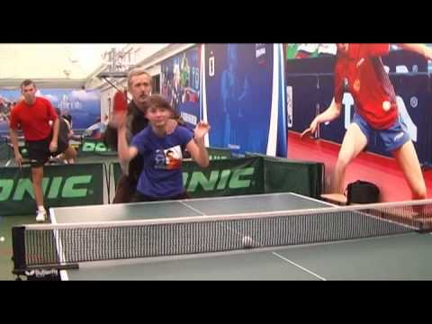 Russian table tennis robot