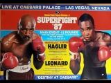 Легендарные вечера: Леонард vs Хаглер