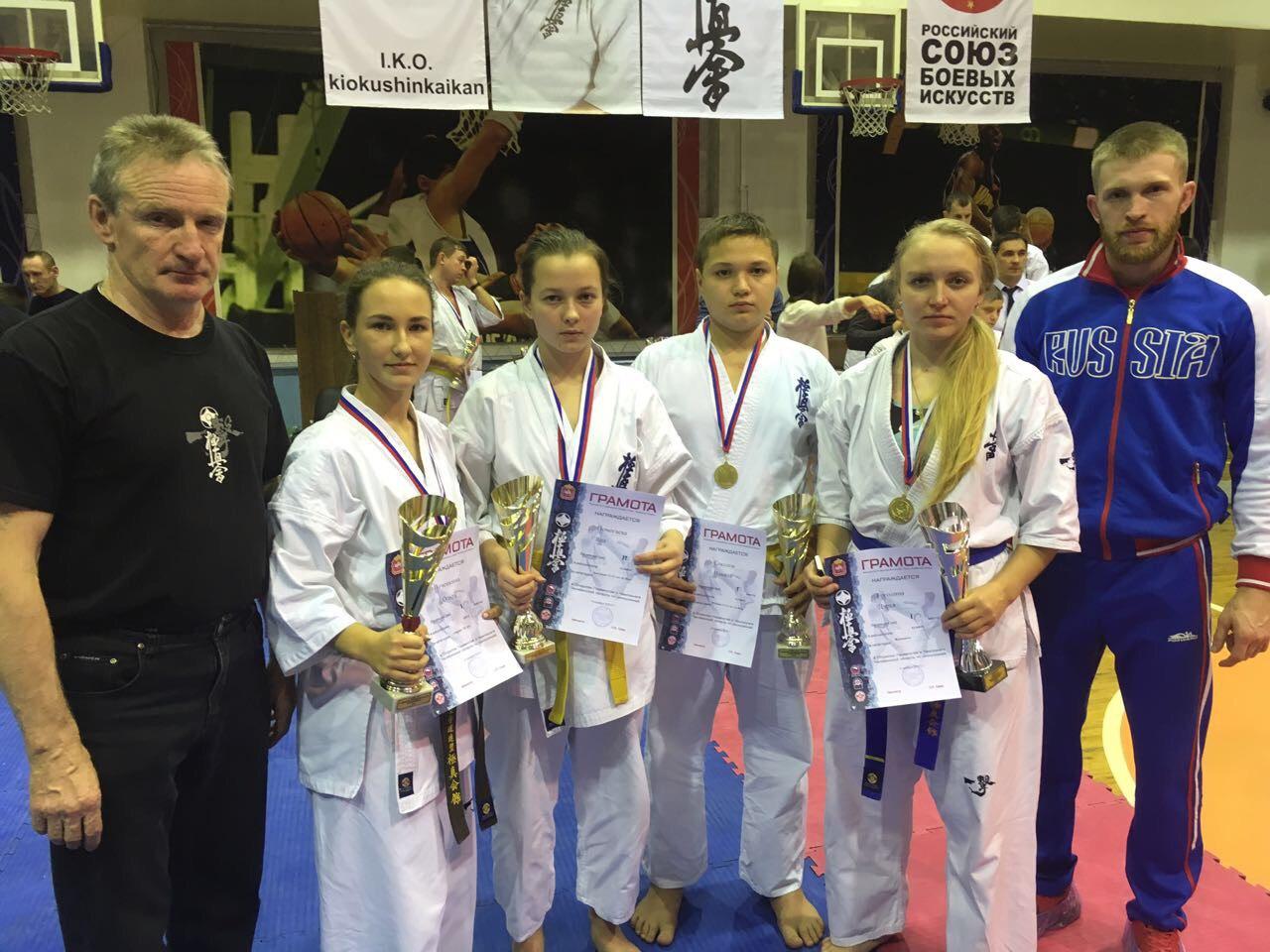 Открытое Первенство и Чемпионат Челябинской области по Киокусинкай по кумитэ и ката