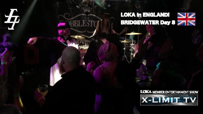 [jrokku] (VS) LOKA presents X-LIMIT TV vol 100 [LOKA in UK! ハロウィンPARTY! CRAZY TOWNの名曲に参加]