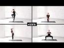 #тренировка_недели №35 | Подтягивание колена с прыжком | Взрывающаяся звезда | Половина бурпи | Плие-пружинка