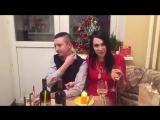 Илона Новосёлова поздравляет всех с Новым годом 31.12.2015.