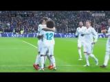 Гол Васкеса с передачи Роналду на 1-й минуте матча
