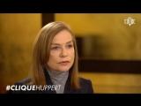 Clique x Isabelle Huppert, monument du cin