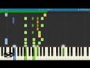 Неприятность эту мы переживем из м⁄ф Лето кота Леопольда на пианино Synthesia cover Ноты и MIDI