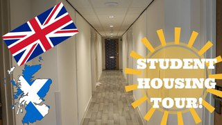 UK Student Dorm Tour!: University Life In Edinburgh!
