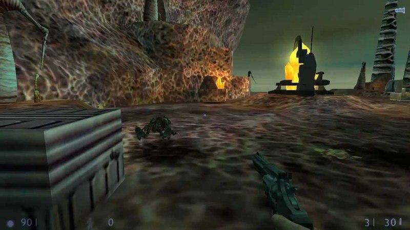 Прохождение Half Life 1 Blue Shift 6 Точка Фокусировки RUS