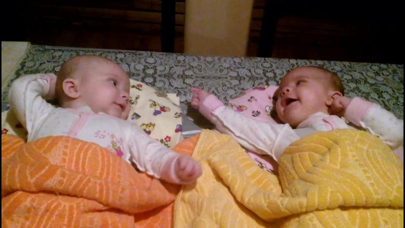 Prima data au stat de vorba fetitele lu mama 15.02.2017
