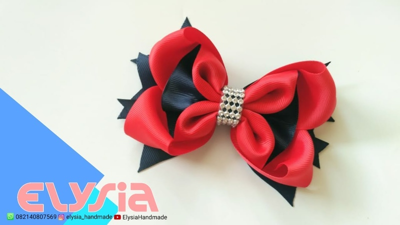 Laço Heloi Boutique 🎀 Heloi Boutique Ribbon Bow 🎀 DIY by Elysia Handmade