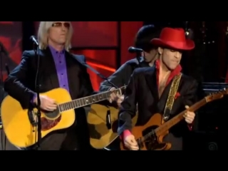 Prince, tom petty, steve winwood, jeff lynne, harrisonjr. and others - while my guitar gently weeps