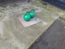 жим мельницей гирь по24 кг напопа в приседе
