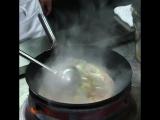 WOW-WOK рецепт! Жаренный рис  с мясом и овощами.