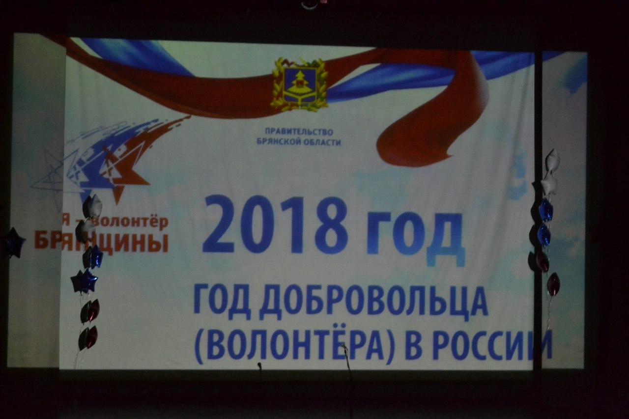 Открытие года добровольца (волонтёра) в Брянской области