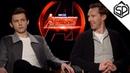 Том Холланд и Бенедикт Камбербэтч о костюме симбиота и камнях бесконечности