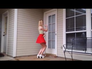 🍓Танцует уже не школьница🍓 это ножки не русская ебля трах худеньких teen fuck skinny sex young porn