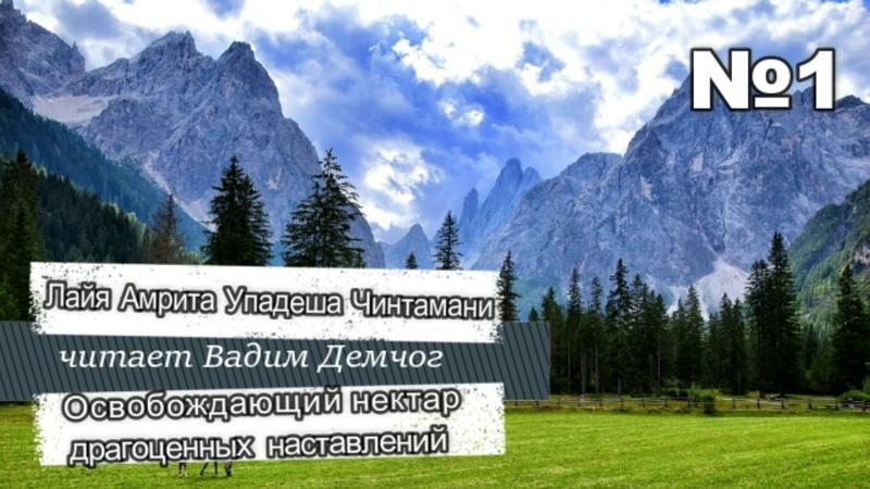 Лайя Амрита Упадеша Чинтамани Освобождающий Нектар Драгоценных Наставлений